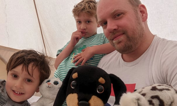 Hot summer nights: 'My family was running on fumes – like a dummy I took them camping'