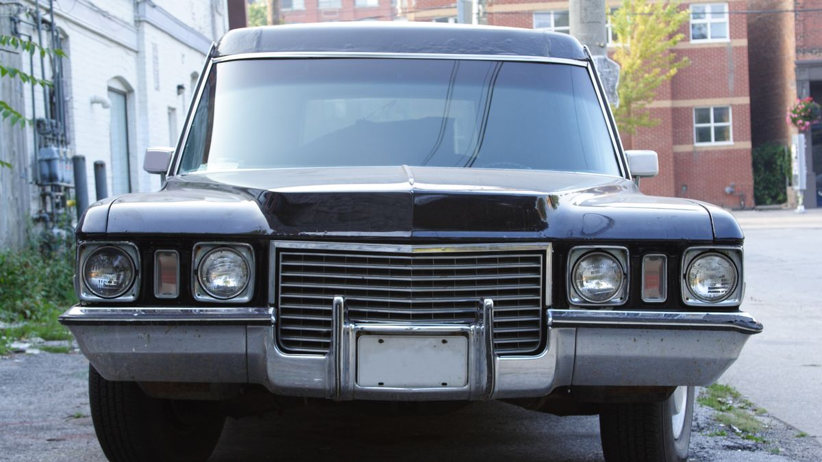 Couple who 'couldn't afford a Lamborghini' decided to buy a hearse instead